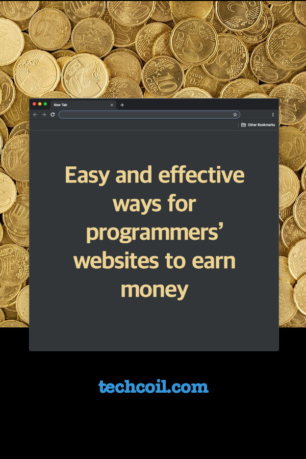 Easy and effective ways for programmers website to make money