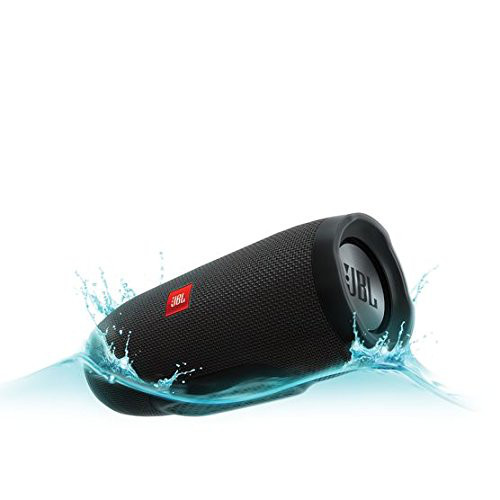 Image for JBL Charge 3 JBLCHARGE3BLKAM Waterproof Portable Bluetooth Speaker