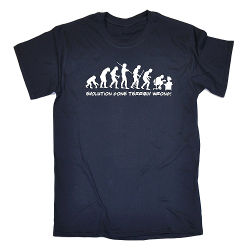 Image for Men's Evolution Gone Terribly Wrong T-Shirt