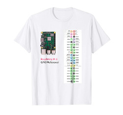 Image for Useful Geek Tees: Raspberry Pi 3 GPIO Reference