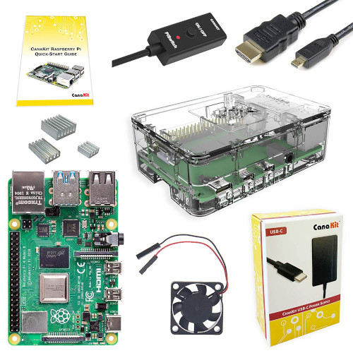 Image for CanaKit Raspberry Pi 4 4GB Basic Starter Kit with Fan (4GB RAM)