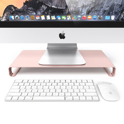Image for Satechi Aluminum Universal Unibody Rose Gold Monitor Stand
