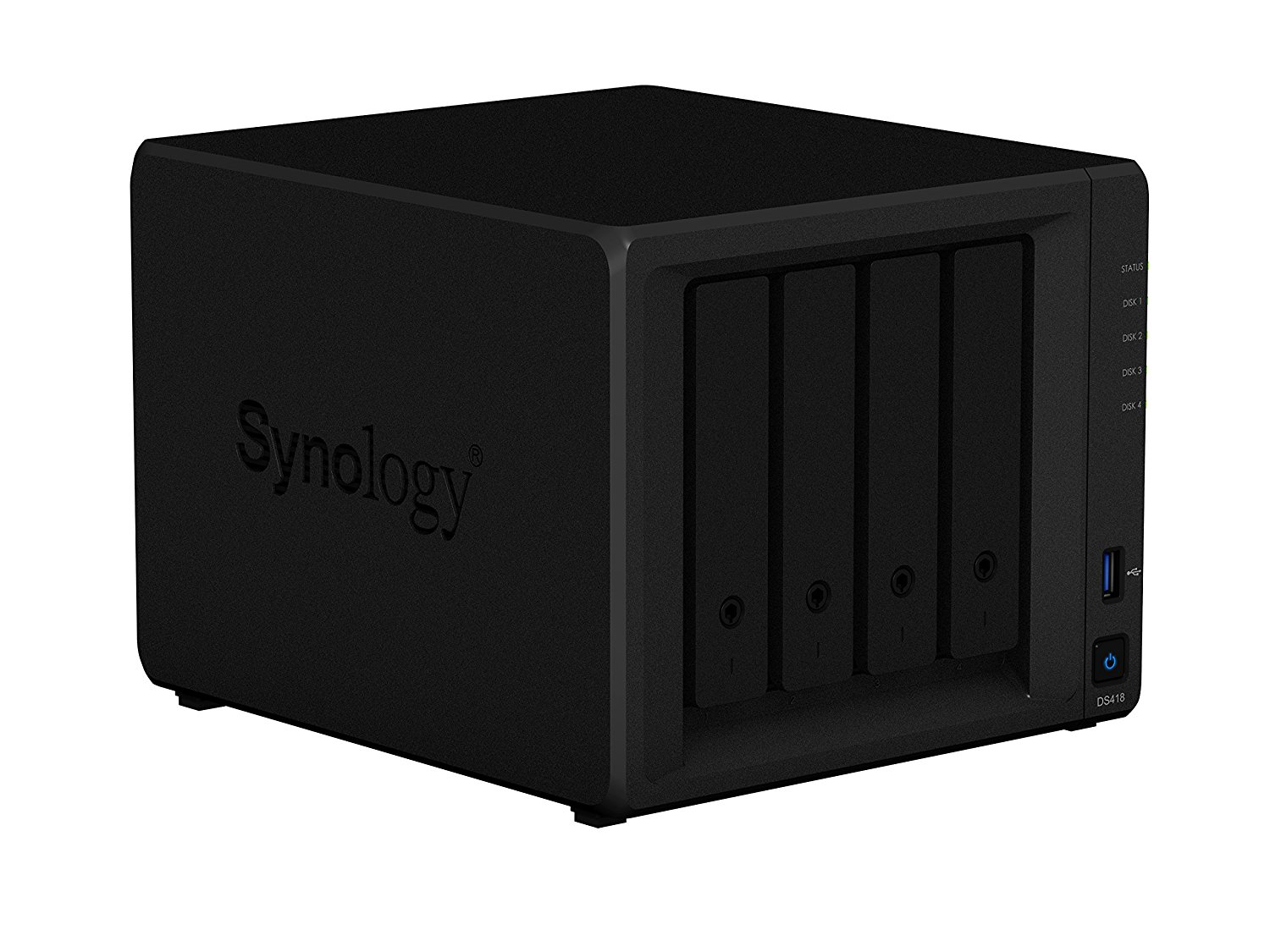 Image for Synology DS418 NAS Disk station, 4-Bay, 2GB DDR4 (Diskless)