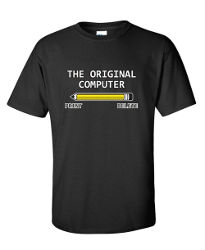 Image for The Original Computer Geek Nerd Tee Sarcastic Adult Humor Very Funny T Shirt